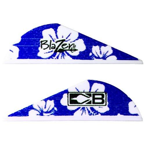 Bohning Blazer Vanes Hawaiian 36 pk Blue