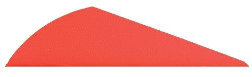 Bohning Blazer X2 Archery Vane 100-Pack Neon Red
