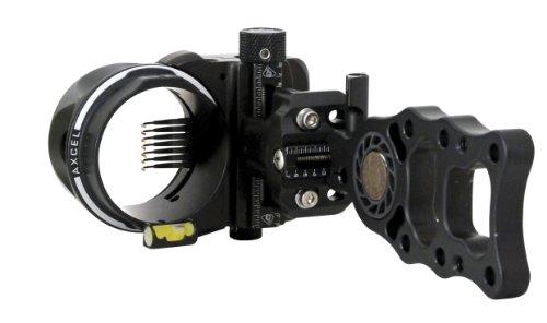 Axcel 7 Pin 019 Fiber Armortech HD Hunting Sight Black