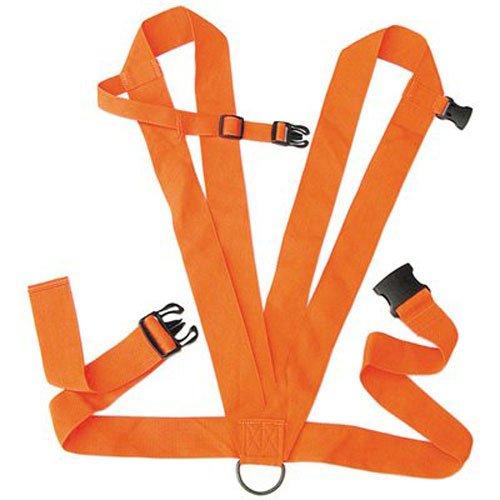 Allen Dual Harness Deer Drag with Rope Blaze Orange
