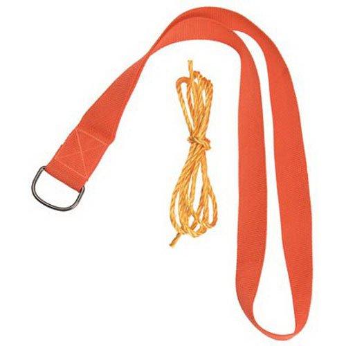 Allen Single Shoulder Deer Drag with Rope Orange