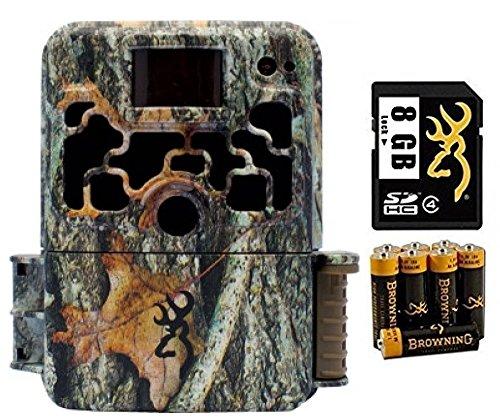 Browning BTC6HDE Dark Ops Elite Trail Camera Combo CameraCardBatteries