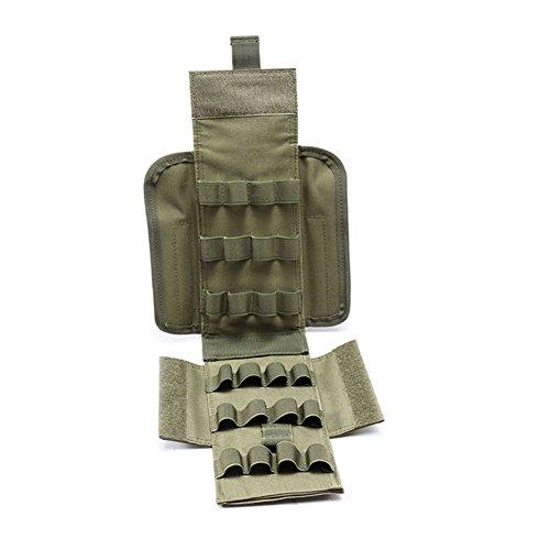Balight Molle 25 Round 12GA 12 Gauge Hunting Ammo Bag Ammo Shells Pouches Magazine BagOnly Bag