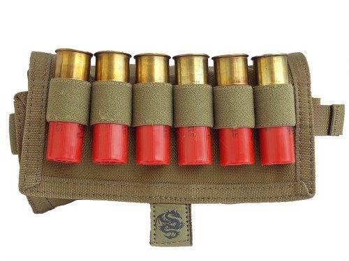 Tacprogear 18-Round Shotgun Shell Pouch Coyote Tan