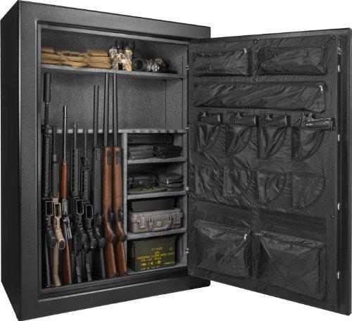 Barska New Fireproof Fire Vault Rifle Gun Keypad Lock Safe Cabinet 199 Cubic feet
