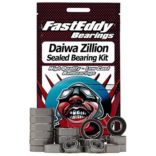 Daiwa Zillion Baitcaster Fishing Reel Rubber Sealed Bearing Kit
