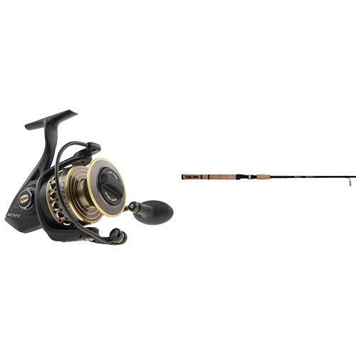 Penn 1338219 Battle II 4000 Spinning Fishing Reel and Shakespeare USESP702M Ugly Stik Elite 2-Piece Spinning Rod 7 Feet Medium Power