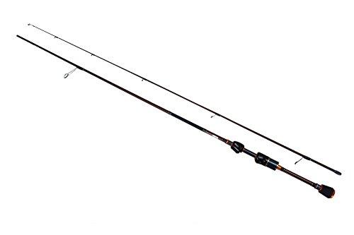 SeaQuest 2-Piece Spinning Rod Portable Carbon Fiber Fishing Rod Lightweight Fishing Pole