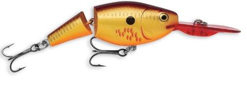Rapala Jointed Shad Rap 07 Fishing lure 275-Inch Bleeding Copper Flash