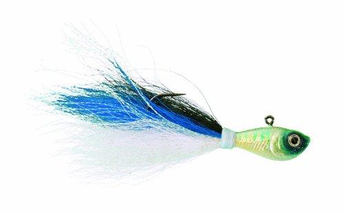 Spro SBTJBS-1 Prime Bucktail Jig 1-Ounce Blue Shad