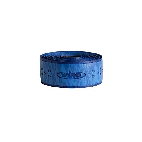 Winnwinn Fishing 96 Inch Overwrap with Tuna Blue Fishing Rod Wrap Tape