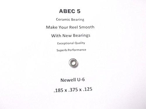 Newell Reel Part C 636 3 U-6 ABEC 5 Ceramic Bearing 185 x 375 x 125 17