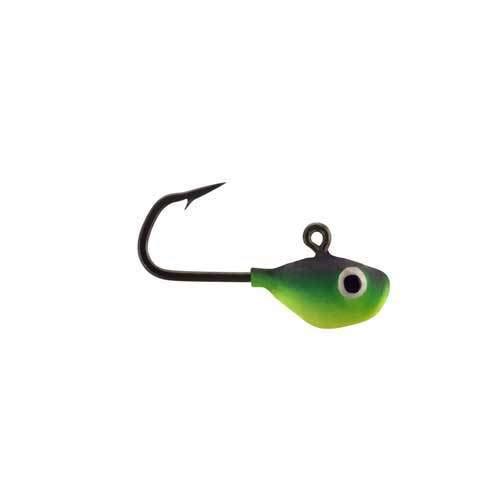 13 Fishing Doug - Tungsten Ice Jigs - Matte Black - 164 oz - 2 Pack