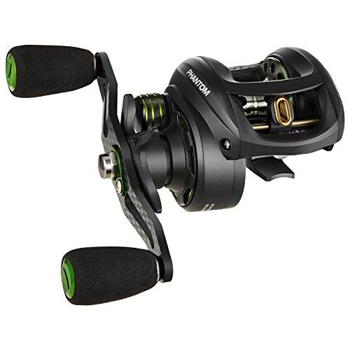 NEW Piscifun Phantom Lightest Carbon Baitcasting Reel - Only 57oz 17LB Carbon Fiber Drag 701 Dual Brakes Baitcaster Fishing Reel Right Handed