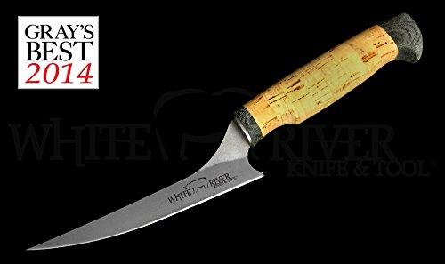 White River Knife Tool 6 Step-up Fillet Knife Ultra Light Cork Handle WRSUF6-CORK