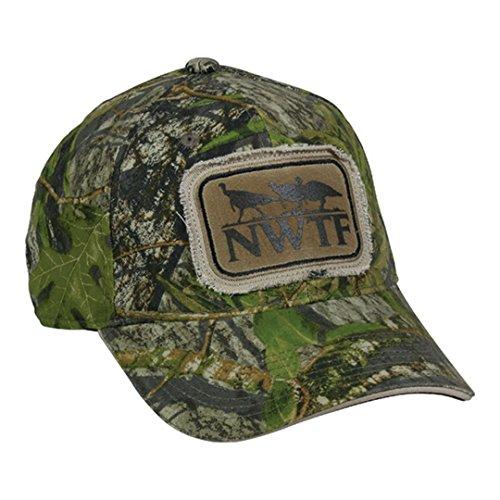 NWTF Mossy Oak Obsession National Wild Turkey Federation Frayed Patch Hunting Hat
