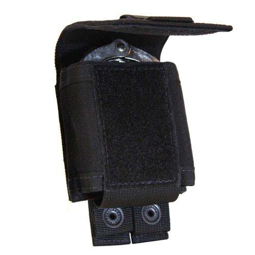 TAC SHIELD T4055BK Single Cuff Case Belt Pouch Black Black