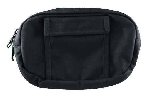 Uncle Mikes Off-Duty and Concealment Nylon Original Zipper Close Gun Pak Belt Pouch Holster Black