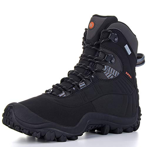 Manfen Womens Hiking Boots Lightweight Waterproof Hunting Boots Ankle Support High-Traction Grip