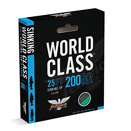 Fenwick Wcflst200 World Class Sink Tip Line BlackTeal 100 200 Grains