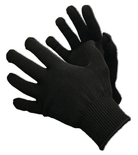 Glacier Glove Polypropylene Glove Liner Black LargeX-Large