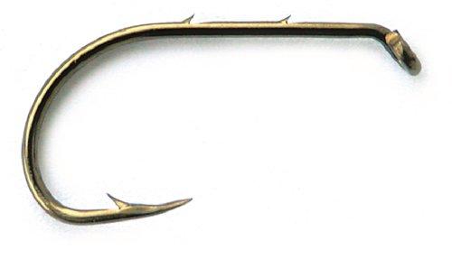 Mustad Classic Beak Baitholder Hook with 2 Extra Strong and 2 Extra Short Shank Pack of 50 Bronze Size 6