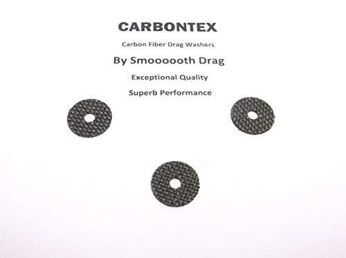 SHIMANO Reel Part Symetre Aero 4000 3 Smooth Drag Carbontex Washers SDS60