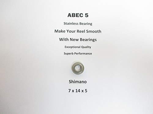 SHIMANO Symetre SY4000RJ RD10397 RD12096 ABEC5 Stainless Bearing 7x14x520