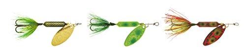 Yakima Bait Rooster Tail 3 Pack FrogFrog SpringFrog Bleeding 14 oz