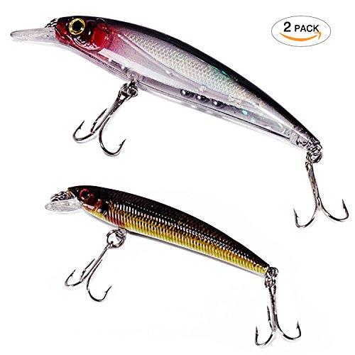 Bait 3D Fishing Eyes Ultra Light Bait Deep Hard Fishing Lure Style3Style4