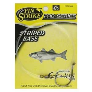 Fin Strike Striped Bass Rig -Circle Hook -Size 60