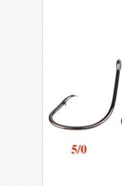 10Pcs Fishing Tackle Sport Circle Hook Jig Big Baitholder 50