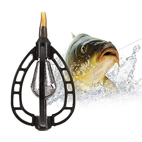 Matoen Fishing Feeder Bait Lure Trap Cage Case Fishing Inline Method Feeder Basket Holder Coarse Terminal Tackle Accessory