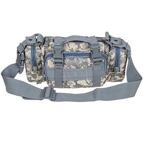 Weierken Multifunctional 3P Magic Pockets Outdoor Sports Fishing Waterproof Waist Packs Running Tactical Camera Bag Photography Backpack
