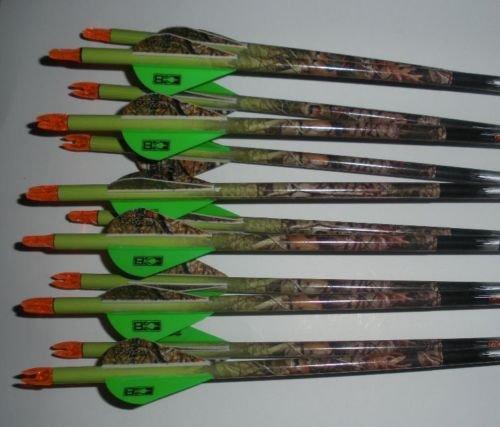 Gold Tip Pro Hunter 7595340 Carbon Arrows wBlazer Vanes Vista Camouflage Wraps 1 Dz