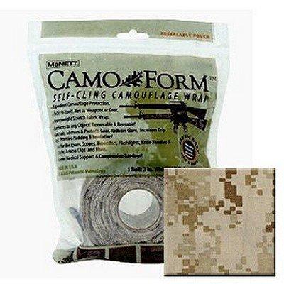 McNett MARPAT DESERT MIL 19413 Camo Form Protective Camouflage Wrap 12 ft roll Bag