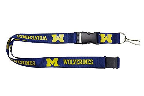 Aminco NCAA Michigan Wolverines Team Lanyard Yellow 24