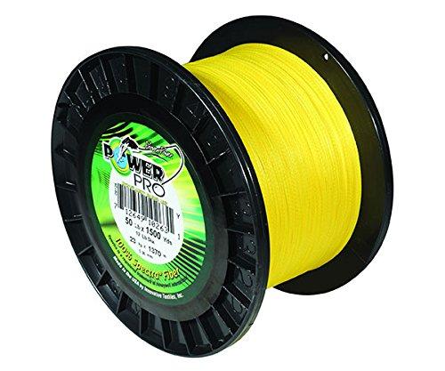 Power Pro 33401000150Y Maxcuatro Braided Fishing Line 100 lb150 yd Hi-Vis Yellow