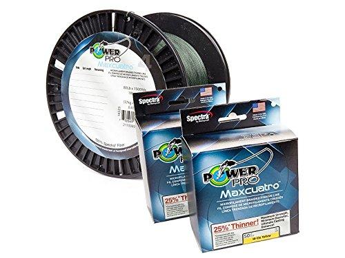 Power Pro Maxcuatro 33400300300Y Braided 30 Lb 300 yd Fishing Line