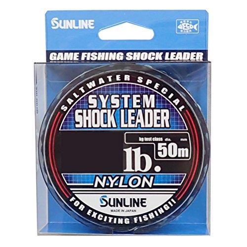 System Shock Leader Nylon No20 90Lb 50m