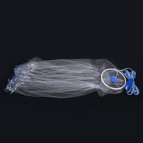 Fishing Net High Strengthen Nylon Monofilament Small Mesh Fish Bait Net for Bait Trap Fish Dia 24m78