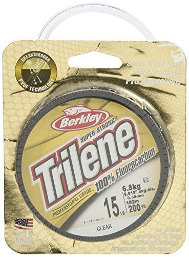 Berkley Trilene Fluorocarbon Professional Grade Filler Spool Fishing Line Clear 10 lb200 yd