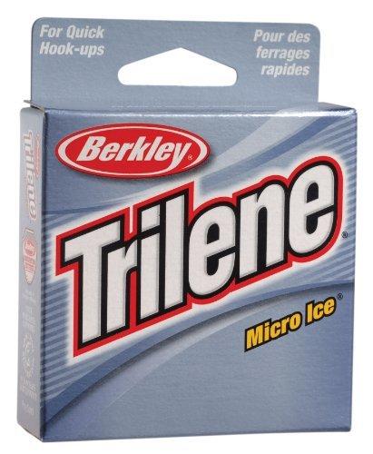 Berkley Trilene Micro Ice Fishing Line 110 Yd Spool6-PoundClear Steel by Berkley