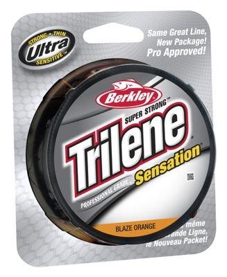 Berkley Trilene Sensation Pro Grade 8 Spool Blaze Orange 330 yd