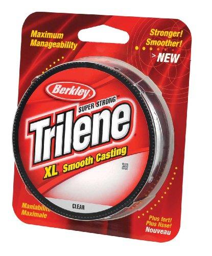 Berkley Trilene XL Monofilament Line Spool 330 Yards 0010 Diameter 8 lb Breaking Strength Clear
