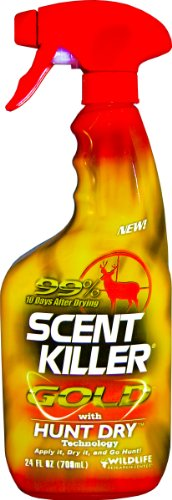 Wildlife Research Scent Killer Gold Clothing and Boot Spray 24-Ounce