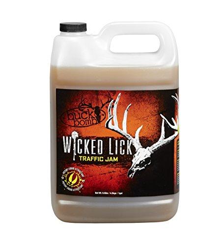 Buck Bomb MM-WL-TJ-01 Wicked Lick Acorn Traffic Jam Liquid Deer Attractant
