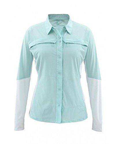 Simms Womens Pro Reina LS Shirt Seafoam Medium