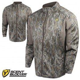 Scent Blocker Knock Out Jacket - KOJBL - Mossy Oak BottomLand Large