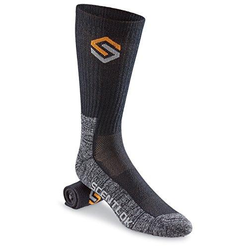 Scent-Lok Everyday Sock Black Large
